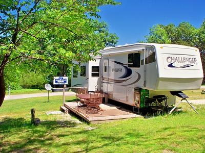 What is a full hookup rv site